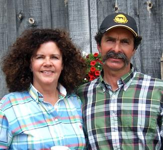 Kathleen and Stuart Harrower
